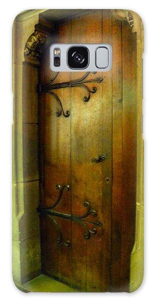 Door Inside Notre Dame Paris Galaxy Case