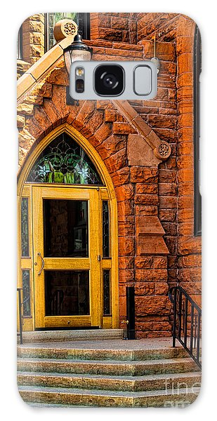 Door To Sanctuary Series Image 1 Of 4 Galaxy Case by Lawrence Burry