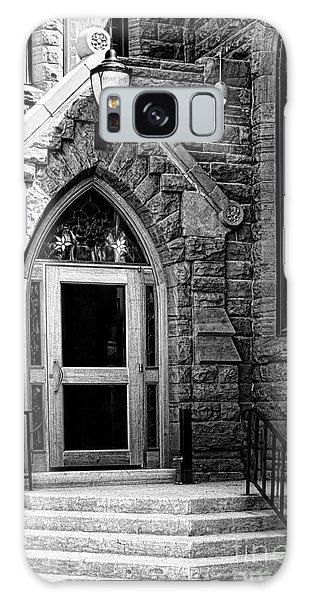 Door To Sanctuary Series Image 3 Of 4 Galaxy Case by Lawrence Burry