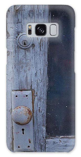 Door To The Past Galaxy Case by Randy Pollard