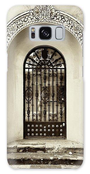 Door With Decorated Arch Galaxy Case
