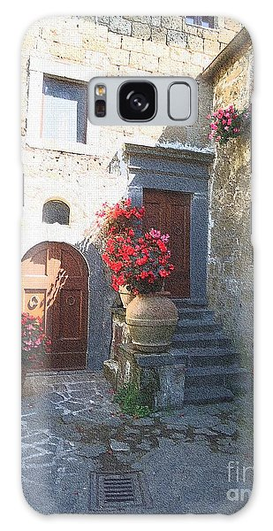 Doors In Bagnoregio Galaxy Case by Barbie Corbett-Newmin