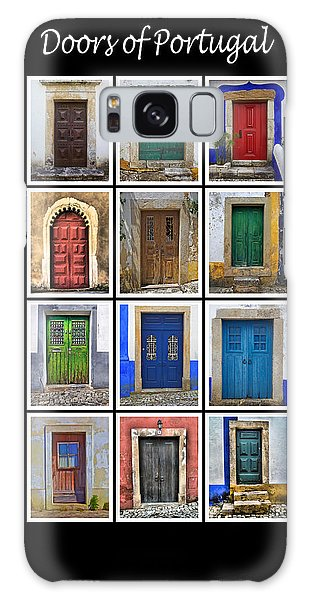 Doors Of Portugal Galaxy Case