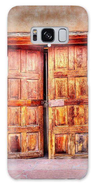 Doors To The Inner Santuario De Chimayo Galaxy Case