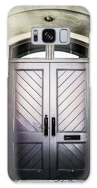 Doorway At Morris Avenue Galaxy Case by Shelby  Young