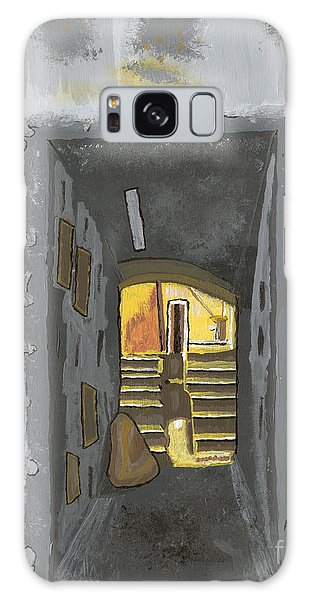 Doorway In Cinque Terra Galaxy Case