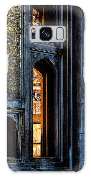 Doorway In The Blue Mosque Galaxy Case