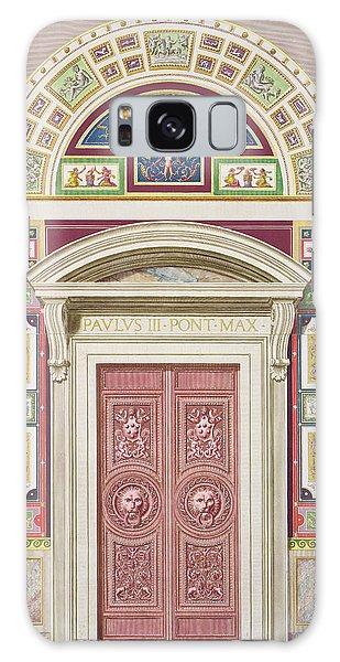 Decorative Galaxy Case - Doorway To The Raphael Loggia by G. & Camporesi, P. Savorelli