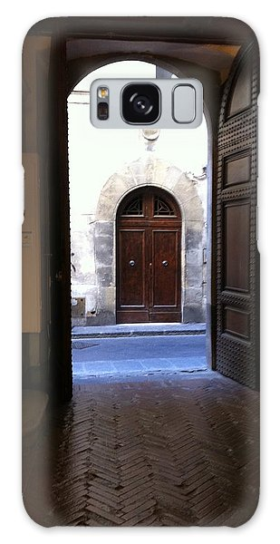 Doorways In Italy Galaxy Case