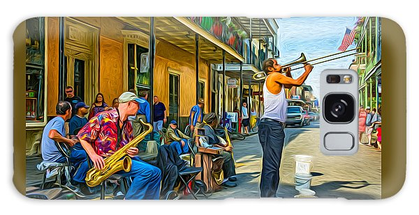 Doreen's Jazz New Orleans - Paint Galaxy Case by Steve Harrington
