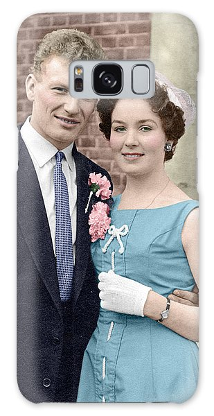Doris And Gerry Wedding Galaxy Case