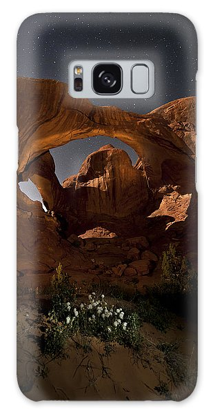 Double Arch In The Moonlight Galaxy Case