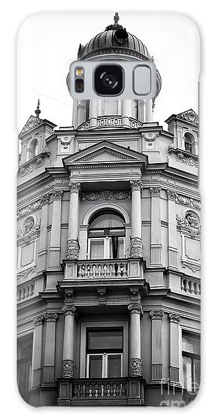 Double Balconies In Prague Galaxy Case