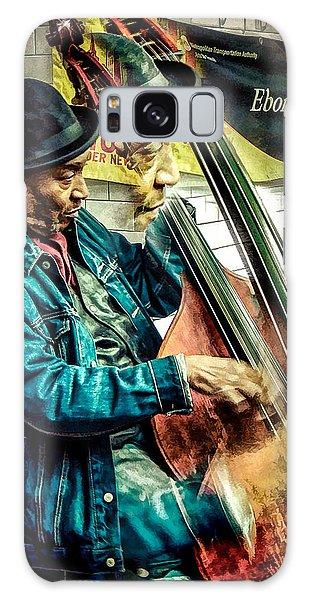 Double Bass. Man Galaxy Case