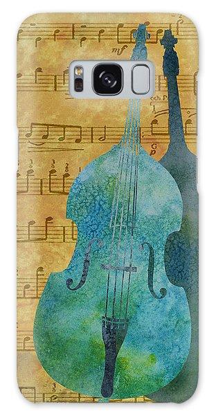Double Bass Score Galaxy Case