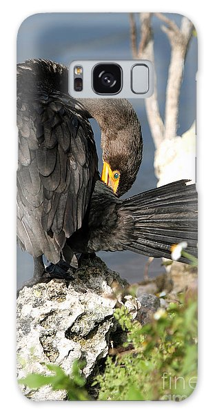 Cormorant Preens Galaxy Case