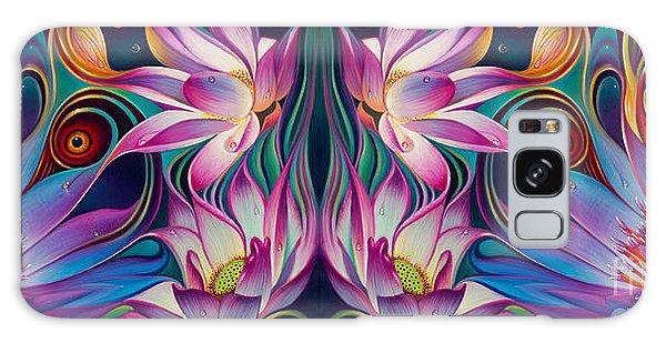 Double Floral Fantasy 2 Galaxy Case