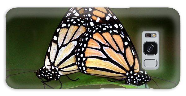 Double Monarch Galaxy Case