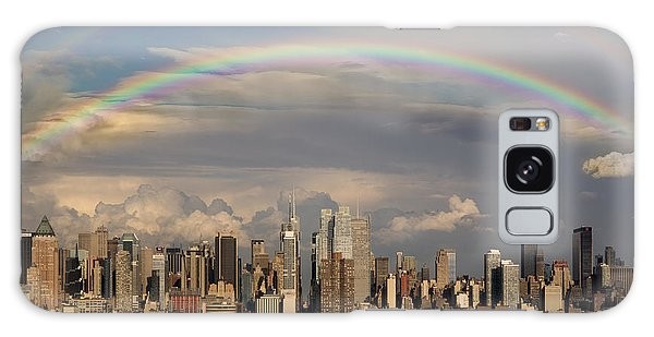Double Rainbow Over Nyc Galaxy Case