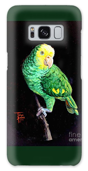 Double Yellow Headed Amazon Paco Galaxy Case