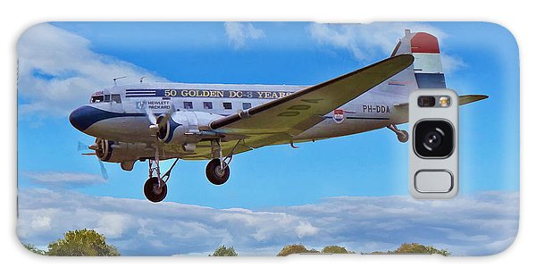 Galaxy Case featuring the digital art Douglas Dc3 by Paul Gulliver