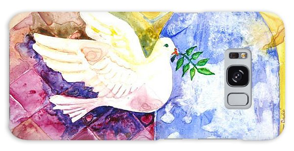 Dove Of Peace Galaxy Case