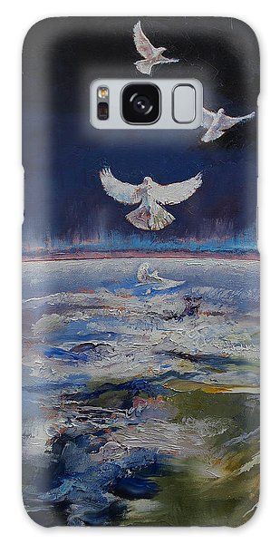 Doves Galaxy Case by Michael Creese