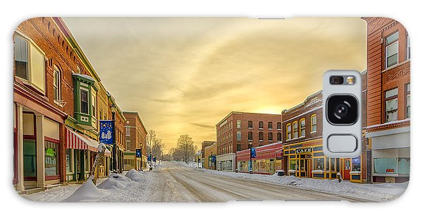 Houlton Galaxy Case - Down On Main Street by Christopher Mills