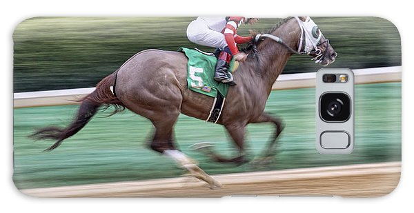 Down The Stretch - Horse Racing - Jockey Galaxy Case
