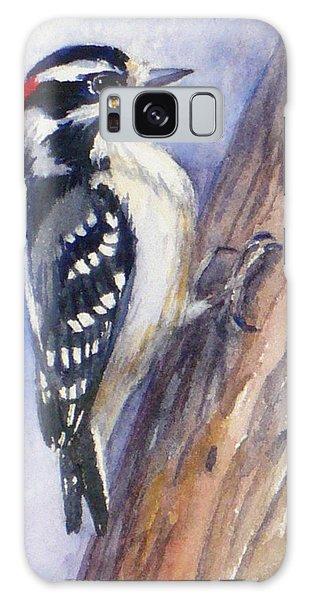 Downey Woodpecker Galaxy Case