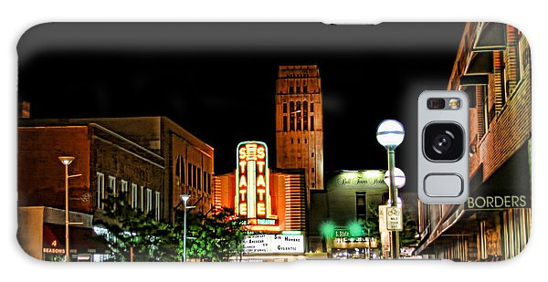 Downtown Ann Arbor Galaxy Case by Pat Cook