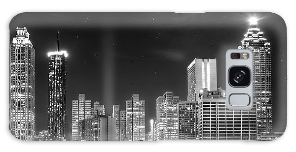 Downtown Atlanta Skyline Galaxy Case by Mark Andrew Thomas