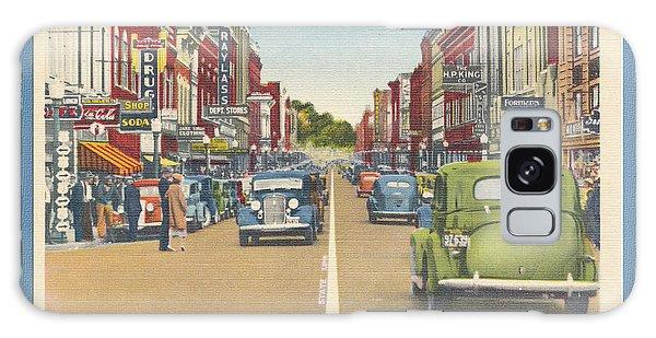 Downtown Bristol Va Tn 1930 - 40 Galaxy Case