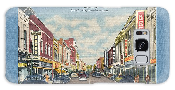 Downtown Bristol Va Tn 1940's Galaxy Case