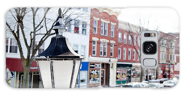 Downtown Brockport I Galaxy Case by Courtney Webster
