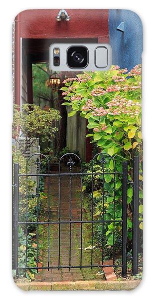 Downtown Garden Path Galaxy Case