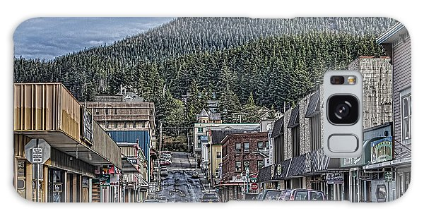 Downtown Ketchikan Alaska Galaxy Case