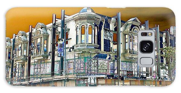 Downtown Los Angeles Corner Facade Galaxy Case