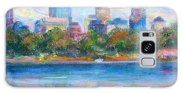 Downtown Minneapolis Skyline From Lake Calhoun Galaxy Case