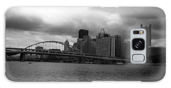 Downtown Pittsburgh Galaxy Case by Joyce  Wasser
