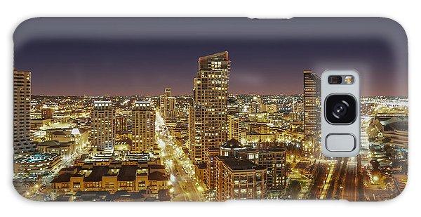 Downtown San Diego Galaxy Case by Alex Weinstein