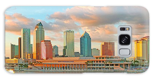Downtown Tampa Skyline Galaxy Case