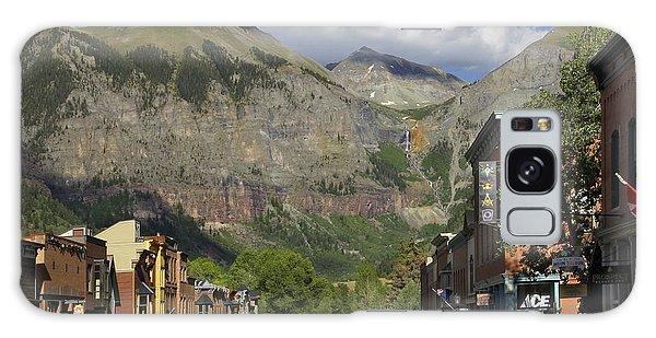 Downtown Telluride Colorado Galaxy Case