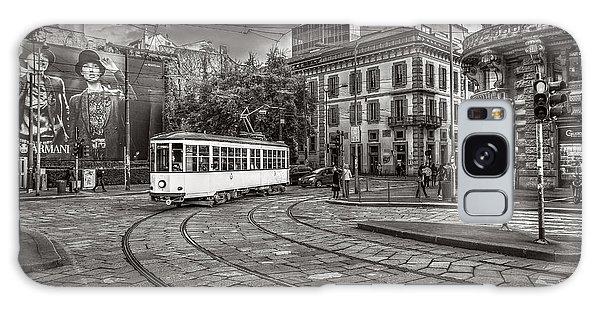 Downtown Tram Galaxy Case