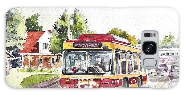 Downtown Trolley Galaxy Case