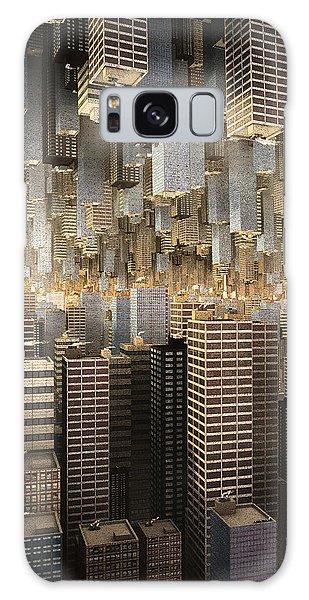 Downtown/uptown Galaxy Case by Matt Lindley