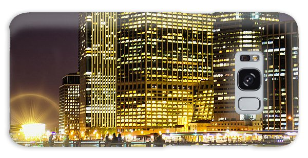 Downtown Lights Galaxy Case