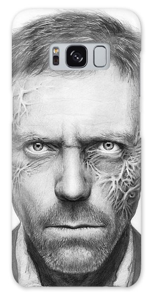 Celebrities Galaxy Case - Dr. Gregory House - House Md by Olga Shvartsur