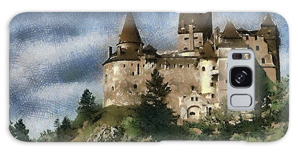 Dracula Castle Romania Galaxy Case