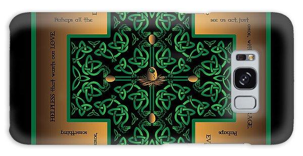 Dragon Egg Celtic Cross Galaxy Case